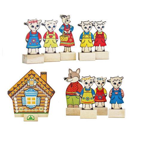 Театр на столе Волк и семеро козлят