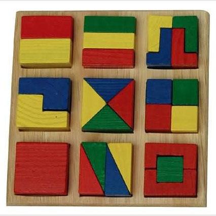 Рамка-вкладыш Собери квадрат