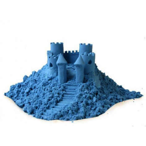 Космический песок, набор 2 кг, голубой