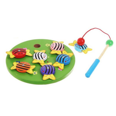 Игра-рыбалка Пчелки