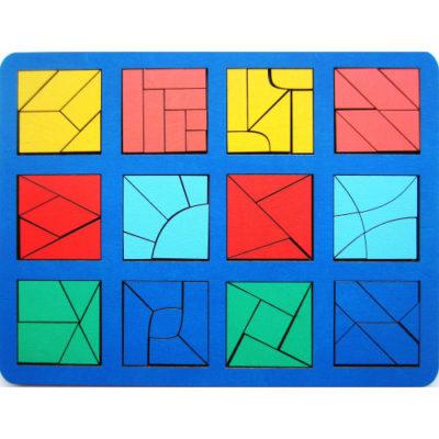 квадраты Никитина 3 уровень