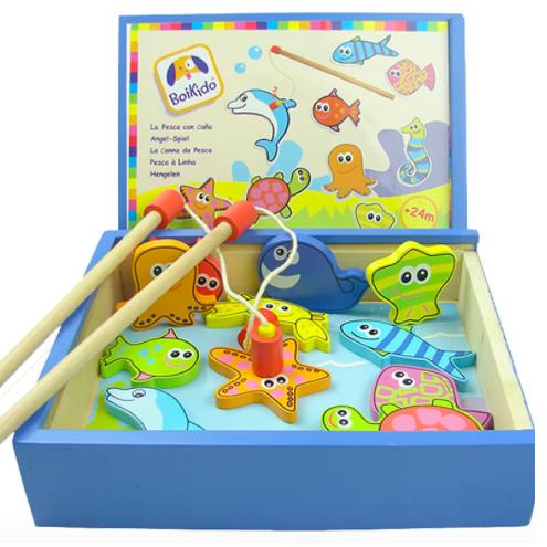 Магнитная рыбалка в коробке