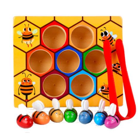 Сортировщик Цветные пчелки