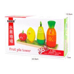 пирамидка веселые фрукты