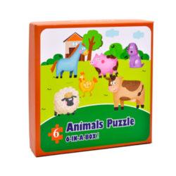 Набор макси-пазлов Животные на ферме