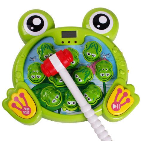 Интерактивная игра Поймай лягушку