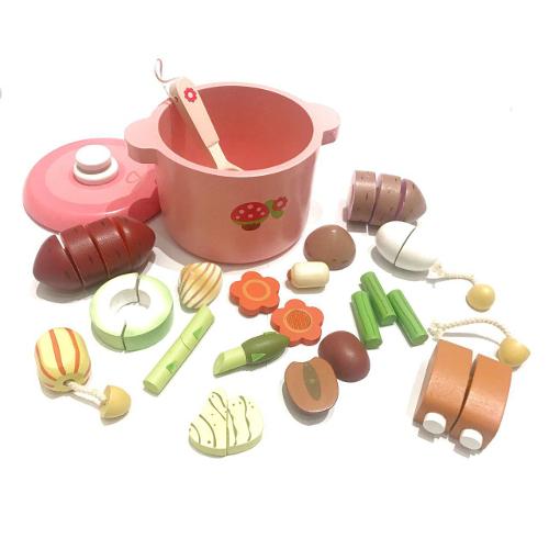 Набор для приготовления супа розовый