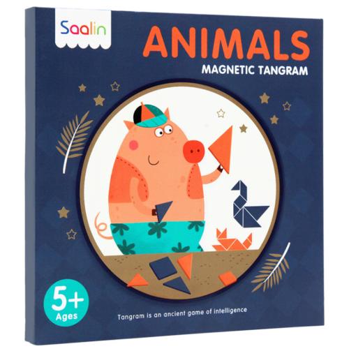Танграм магнитный Животные