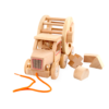 Деревянный грузовик сортер каталка